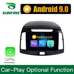 $enCountryForm.capitalKeyWord Australia - Android 9.0 Ram 4G Rom 64G PX6 Cortex A72 Car DVD GPS Multimedia Player Car Stereo Sat Nav Headunit For Hyundai Elantra 2011-2016 Radio