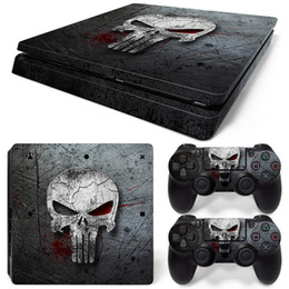 $enCountryForm.capitalKeyWord UK - Fanstore Customized Skin Vinyl Decals Skins Sticker for Playstation PS4 Slim Console and 2 Remote Controller Cool Design