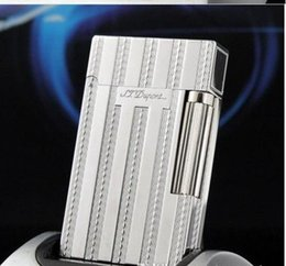 memorial lights NZ - NEW S.T Memorial lighter Bright Sound! New In Box+ Adapter Boutique gas lighter 1-8