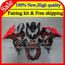 $enCountryForm.capitalKeyWord Australia - Fairing Bodywork For SUZUKI GSX-R1000 GSXR 1000 09 10 11 12 13 15 Red flames 33HT19 GSX R1000 K9 GSXR1000 2009 2010 2011 2012 2014 2015