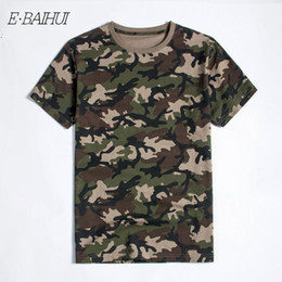 $enCountryForm.capitalKeyWord Australia - E-BAIHUI New Summer Military Camouflage Men Cotton Clothing Camo Camisetas T-shirt Casual Tactical Army Combat Brand Men Tops Tees T040