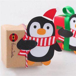 $enCountryForm.capitalKeyWord Australia - 25pcs Christmas Lollipop Sticks Paper Candy Chocolate Cak Xmas Decor Gift Penguins Santa Claus Snowman Cake Chocolate Pops