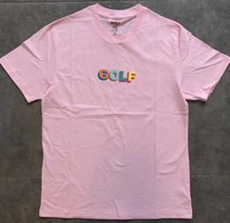 296d8823e94a GOLF WANG T Shirt Men Women 3D Box LOGO TEE Fashion 100% Cotton Harajuku  Tshirt Streetwear 2019SS GOLF T-shirt