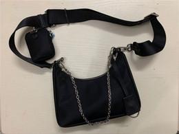 2020 borse a spalla in nylon di alta qualità borse delle donne del raccoglitore più venduti sacchetti di Crossbody bag Hobo borse con scatola in Offerta