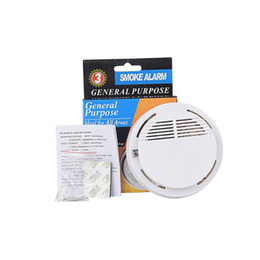 Fire smoke detectors online shopping - Smoke Detector Alarms System Sensor Fire Alarm Detached Wireless Detectors Home Security High Sensitivity Stable LED DB V Battery
