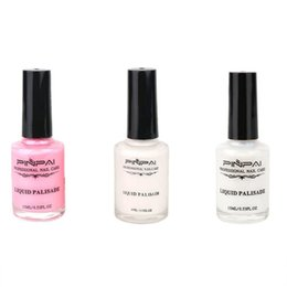 full saddle UK - 10 15ml Anti-overflow Nail Polish Edge Protection Tear-resistant Anti-dirt Liquid Gradient Printing Beauty Full Cover