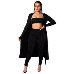 $enCountryForm.capitalKeyWord Australia - Sexy three-piece set hot top&pant & long sleeves coat prevented bask keep warm multi-function three pcs suits NB-945