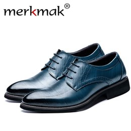 $enCountryForm.capitalKeyWord NZ - Merkmak Big Size 37-48 Oxfords Leather Men Shoes Fashion Casual Pointed Top Formal Business Male Wedding Dress Flats Dropshiping