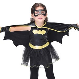 $enCountryForm.capitalKeyWord Australia - Bat Man Costumes for Children Dance Dress Girls Cosplay Anime Costumes Play Theatrical Costumes Stage Performance Halloween Clothes