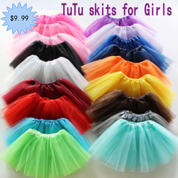 red white blue tutus Australia - Newborn infant TUTU Skirts Designer Models Fashion Net yarn stars baby Girls Princess skirt Halloween costume 16 colors kids lace skirt