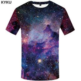 $enCountryForm.capitalKeyWord Australia - KYKU Brand galaxy T shirt Space T-shirts funny 3d t-shirt 2017 hip hop mens clothing china galaxy shirts chinese printed tee