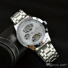 $enCountryForm.capitalKeyWord NZ - Automatic mechanical watch steel belt tourbillon hollow bottom waterproof men's watch led electronic movement plastic case rubber watch