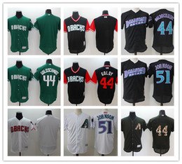 f4a177ac9 Black Diamondbacks Jersey NZ - custom Men s women youth Majestic Arizona  Diamondbacks Jersey  51 Randy