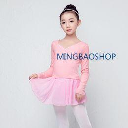 60418be2bdc6 2019 Women Dancewear Ballet Top Child Dance Sweater Gymnastic Leotard Tops  for Girls women professional ballet costumes