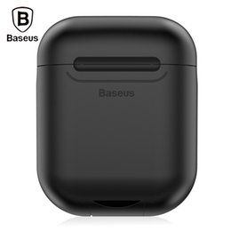 Venta al por mayor de Funda protectora de silicona Baseus, carga inalámbrica portátil para AirPods