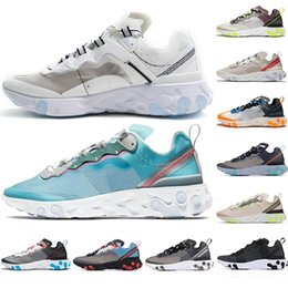 Discount knit shoes - Epic React 87 Instant Men Running Shoes Women Knitting Lightweight Breathable Fashion Run Jogging Shoes Trainers Sports