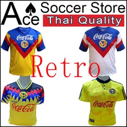 9faaec5b08c 1993 LIGA MX Club America Retro soccer Jerseys home away 3rd Orange 93 94  O.PERALTA C.DOMINGUEZ MATHEUS mexico 1994 football shirts