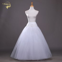 $enCountryForm.capitalKeyWord Australia - 4 layers of Hard Tulle Petticoat Underskirt Slip Wedding Accessories Chemise Without Hoop For Wedding Dress Crinoline Jupe