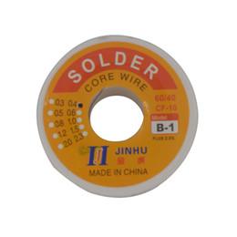 $enCountryForm.capitalKeyWord Australia - 0.4mm 60 40 Tin Lead Rosin Core Solder Soldering Wires 50g Flux Soldering Welding Wire Reel