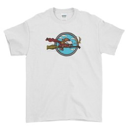 $enCountryForm.capitalKeyWord UK - Wizard Flying Ace - Sunday Paper Cartoon Men T Shirt Top Tee