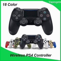 $enCountryForm.capitalKeyWord Australia - Bluetooth Wireless Joystick for PS4 Controller Fit For PlayStation 4 Console For Playstation Dualshock 4 Gamepad with l retail box package