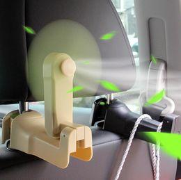 $enCountryForm.capitalKeyWord Australia - fan hook personality car creative multi-function rear seat can hide car car accessories 12.5*7*5.4cm