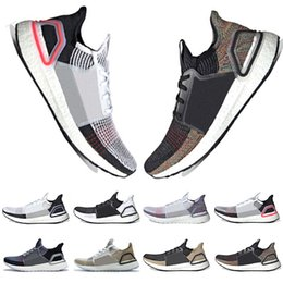 9ad005974ddcf With Box In Stock 2019 New Ultra Boost 19 Laser Red Refract Oreo mens  running shoes for men Women UltraBoost UB 5.0 Sports Sneakers Trainers