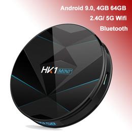 $enCountryForm.capitalKeyWord Australia - HK1 Mini+ RK3318 Android 9.0 TV Box 4GB 64GB 4G 32G 2GB 16GB Dual Band Wifi 2.4G 5G Bluetooth Smart Media Player Set Top Box Android9.0