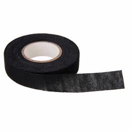Nastro di tessuto 19mm x 15m Nastro resistente al calore Cablaggio del nastro Loom Cablaggio Tessuto di stoffa Nastro adesivo per la protezione del cavo in Offerta