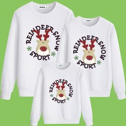 $enCountryForm.capitalKeyWord NZ - Family Christmas Hoodies Warm Adult Kids Girls Boy Mommy Leisure Wear Mother Daughter Clothes Matching Family Outfits QX01A02BC