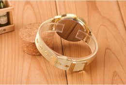 $enCountryForm.capitalKeyWord Australia - Fashion Alloy Mesh Belt Lady Quartz Watch Luxury Diamond Set Foreign Trade Hot Style Watch Women