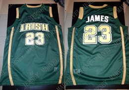 Cheap custom 23  St Mary High School Irish Jersey James Green Stitch  customize any number name MEN WOMEN YOUTH XS-5XL 472e9a9b5
