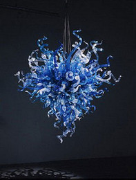 $enCountryForm.capitalKeyWord Australia - High Quality Indoor Chandelier Lighting Living Room Bedroom Art Decorative Design Dale Chihuly Murano Glass Chandelier