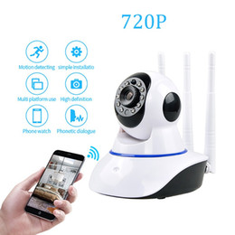 wireless p2p network camera 2019 - Home Security mini 720P IP Camera Wireless WiFi Network Camera Surveillance HD Night Vision CCTV Baby Monitor P2P discou
