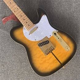 Wholesale american guitars online – design F hole American Merle Haggard Signature TL guitar gold hardware alder body guitars guitarra
