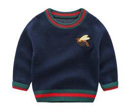 Autumn Cotton Australia - 2019 Baby sweater cotton autumn and winter warm newborn jackets children's sweaters baby knitted sweater autumn