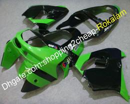 $enCountryForm.capitalKeyWord UK - 1998 1999 ZX 9R Motorbike Fit For Kawasaki Ninja ZX9R 98 99 ZX-9R Green Black Motorcycle ABS Complete Fairing Aftermarket Kit