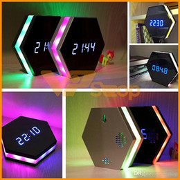 $enCountryForm.capitalKeyWord Australia - Colorful Clock Mini Camera HD 1080P Night Vision Electronic Clock Wireless WIFI Camera IP P2P CCTV TV Baby Home Spying Security Monitoring