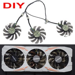 75mm cooler fan UK - New 75MM T128010SU 0.35A Cooling Fan For Gigabyte GTX 670 680 760 Ti G1 GTX 770 780Ti fan GTX Video Card Cooler Fan