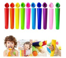 Candy Kitchen Australia - DIY Popsicle mold, silicone Popsicle mold summer home Frozen Ice Stick Mold candy color Kitchen Tools Ice Cream Molds Popsicle mold CLS34