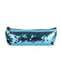 purse making kit Australia - Cosmetic Bag Mermaid Sequin Pencil Case Makeup Bag Coin Pouch Storage Zipper Purse toiletry kit travel organizer make up sui