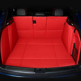 All Surrounded Durable Special Car trunk Mats For LX470 LX570 RX350 RX330 RX300 RX400H RX450H No Odor Waterproof Carpets on Sale