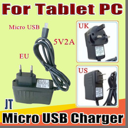 "tablet pc for phone call UK - JT Micro USB 5V 2A Charger Converter Power Adapter US EU UK plug AC For 7"" 10"" 3G 4G MTK6582 MTK6580 call Tablet PC phone Phablet B-PD"