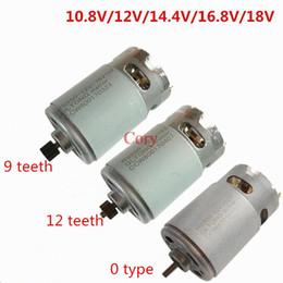 12v dc motor driver online shopping - 1PC Teeth DC Motor V V V V V V For Electric hammer Charging drill electric driver screwdriver