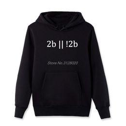 Cool Sweatshirt Jackets Australia - To Be Or Not To Be Programming Men's Hoodie Fashion Male Fleece zipper Sweatshirts Brand Printed Hoody Sweatshirtss Cool jacket