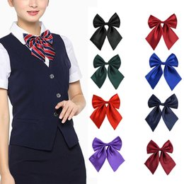 Bowties For Women Australia - Fashion Bow Ties for Women Bowties Ladies Girls Trendy Style Bow Knot Neck Tie Cravat Casual Party Banquet Tie NEW