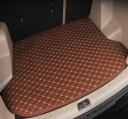 forester car 2019 - Applicable to 2008-2019 Subaru Forester car non-slip luggage mat waterproof leather carpet car trunk mat (free shipping)