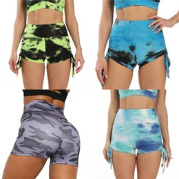 camouflage tights leggings UK - Fitness Leggings Sand Yoga-Pants Sports-Tights Washing Training Push-Up High-Waist Camouflage #707