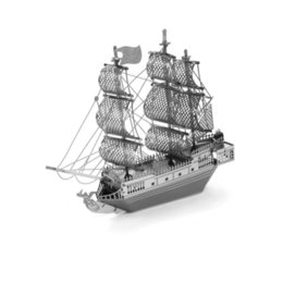 $enCountryForm.capitalKeyWord Australia - 3D Puzzles Black Pearl Pirate Ship - 3D Metal Model Kit - DIY Model Animal Educational Toys Best Of All And No Glue