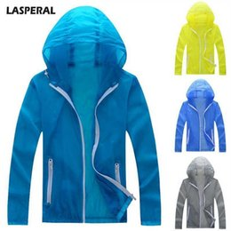 $enCountryForm.capitalKeyWord Australia - Lasperal Men Fashion Solid Color Jackets Pop Mens Hooded Coat Sunscreen Outdoor Quick-drying Jacket Lightweight Clothes Jackets